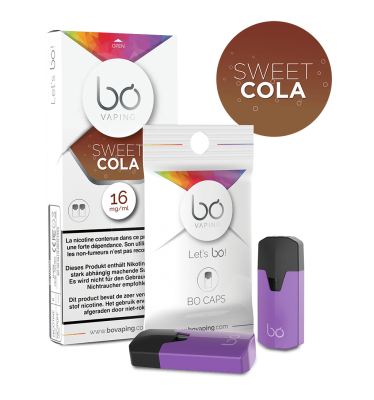 Картриджи Bo Caps Sweet Cola для электронных сигарет Bo One, Bo TC, Bo+ plus, Bo vaping