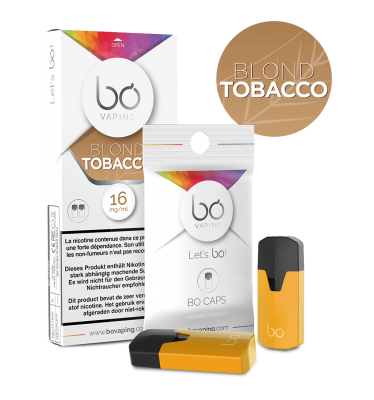 Картриджи Bo Caps Blond Tobacco для электронных сигарет Bo One, Bo TC, Bo+ plus, Bo vaping
